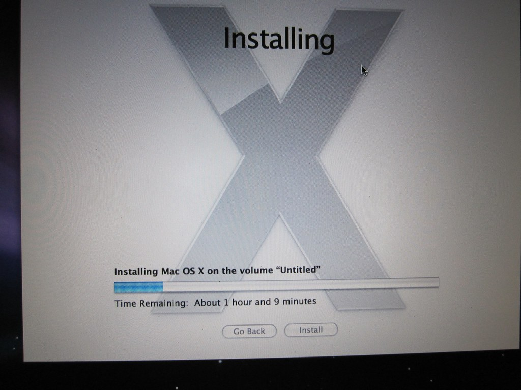 Installing Mac OS X Leopard (10 5 4) on a 15