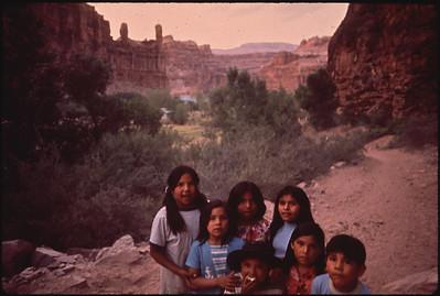 Havasupai Indian Children