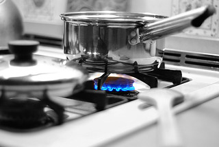 cooking with gas | by Mark Bonica