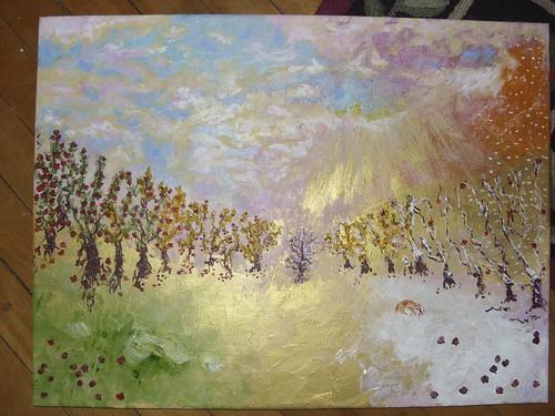 Orchard, August through December | by Kathryn Cramer