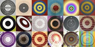 Mosaïques de cibles (Targets mosaic) | by luc legay