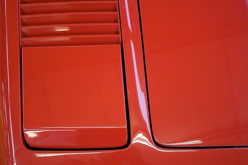 Red car detail | by futureshape