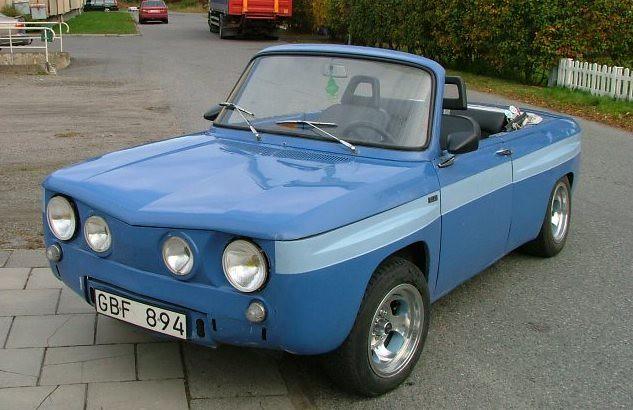 RENAULT 8 gordini cabriolet ARGVS