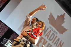 Roberto Luongo Visits Molson Hockey House After The Game Flickr
