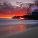 Santa Monica Pier, Ca - Lucky Number 18