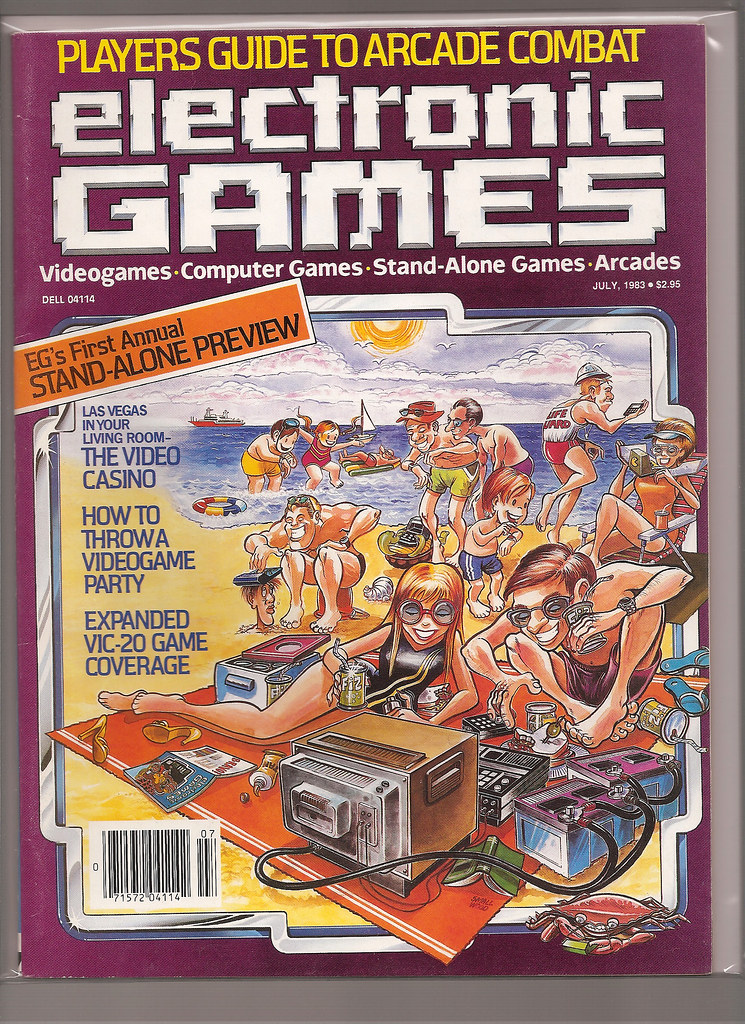 Electronic Games Magazine Issue 17 July 1983 From My Pers