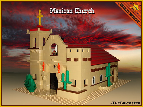 Mexican Church II-b | by WesternOutlaw