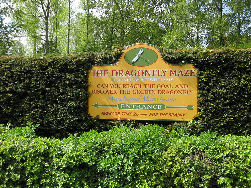 The Dragonfly Maze, Bourton-on-the-Water