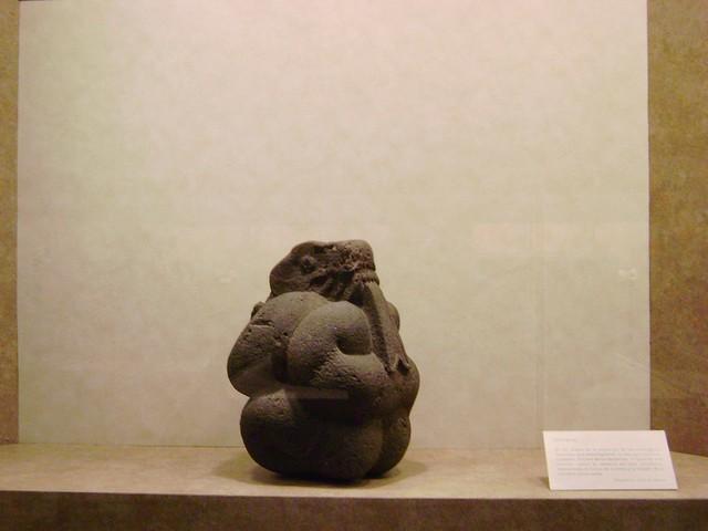 Serpiente, Sala Méxica, Museo Nacional de Antropología, Ciudad de México/Serpent, Aztec Room, National Museum, Mexico City - www.meEncantaViajar.com