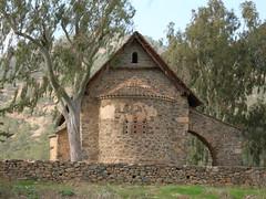Eglise byzantine d'Asinou - Chypre
