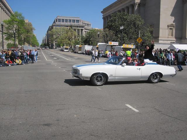 Shin Koyamada in The National Cherry Blossom Festival Parade Washington D.C.