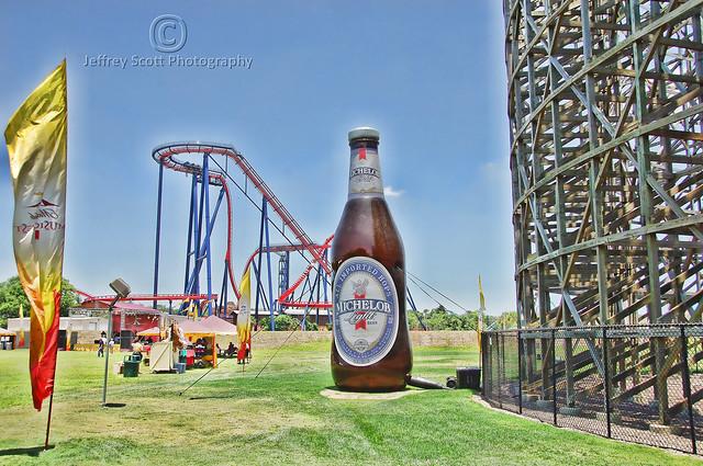 30 ft. Michelob Beer Bottle