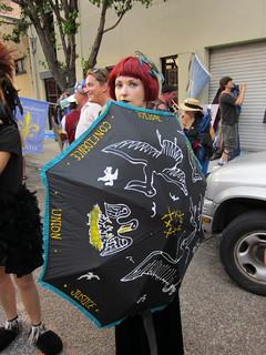 BP Dead Pelicans Dead Pelican Umbrella
