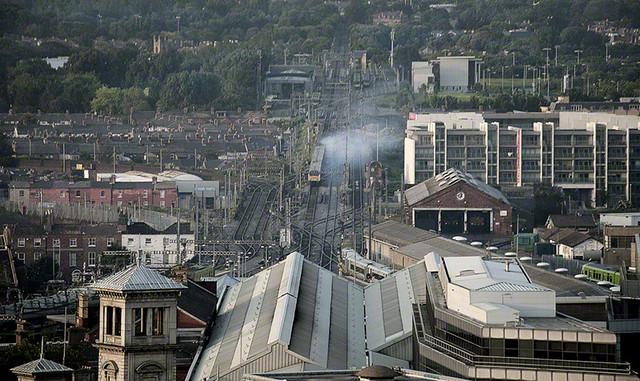 Dublin Connolly Station, Ireland.