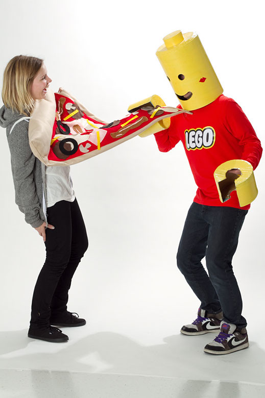 Lego Man Halloween Costume.Halloween Costume Giant Pizza Lego Man Photo By Www As