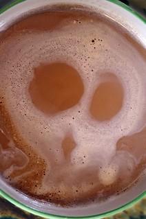 Halloween: Cappuccino posseduto ...