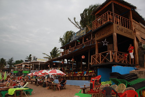Cafe Lilliput at Anjuna Beach, Goa | by ranavikas