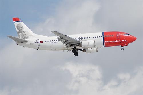 Norwegian Boeing 737-300; LN-KKQ@ZRH;25.03.2008/505aq   by Aero Icarus