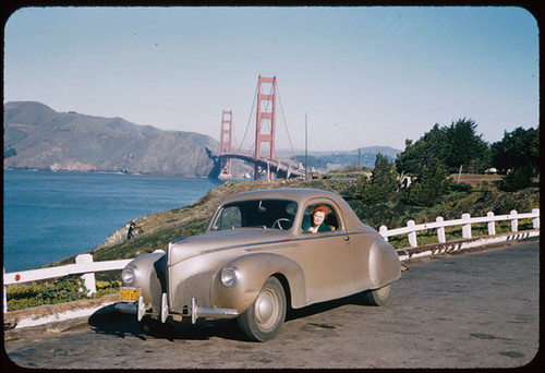 1940 Lincoln - Zephyr H 96-301 at Golden Gate   by IMLS DCC