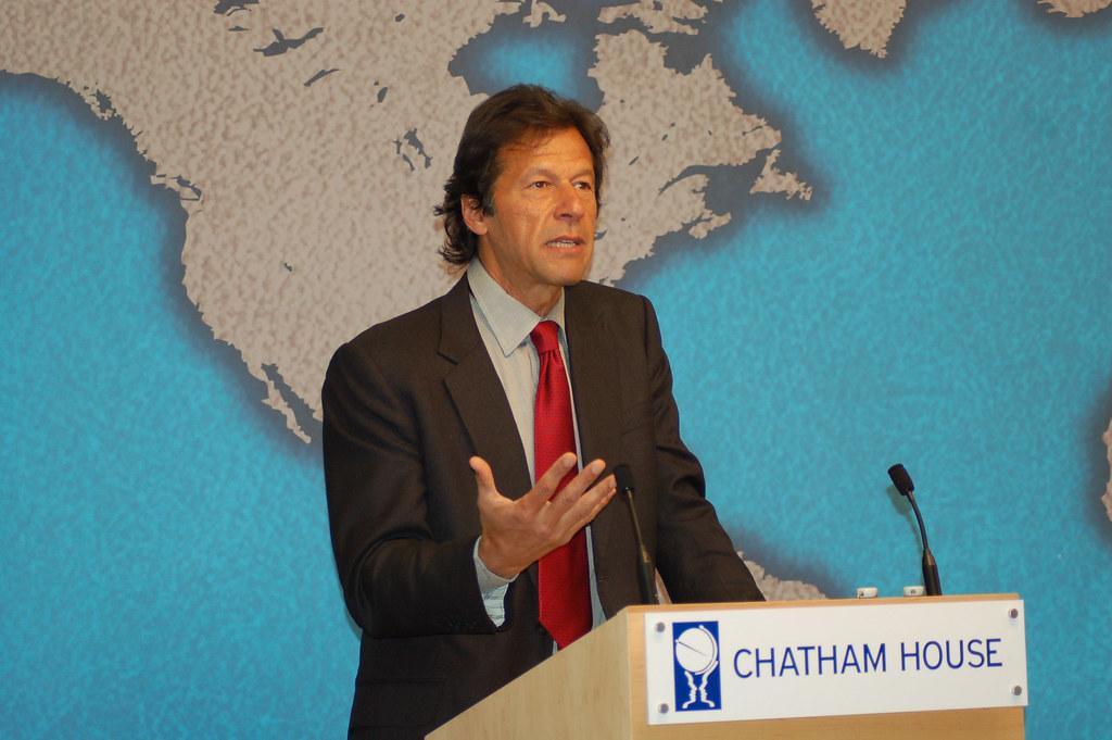 Imran Khan | 14 January 2010 | Chatham House | Flickr