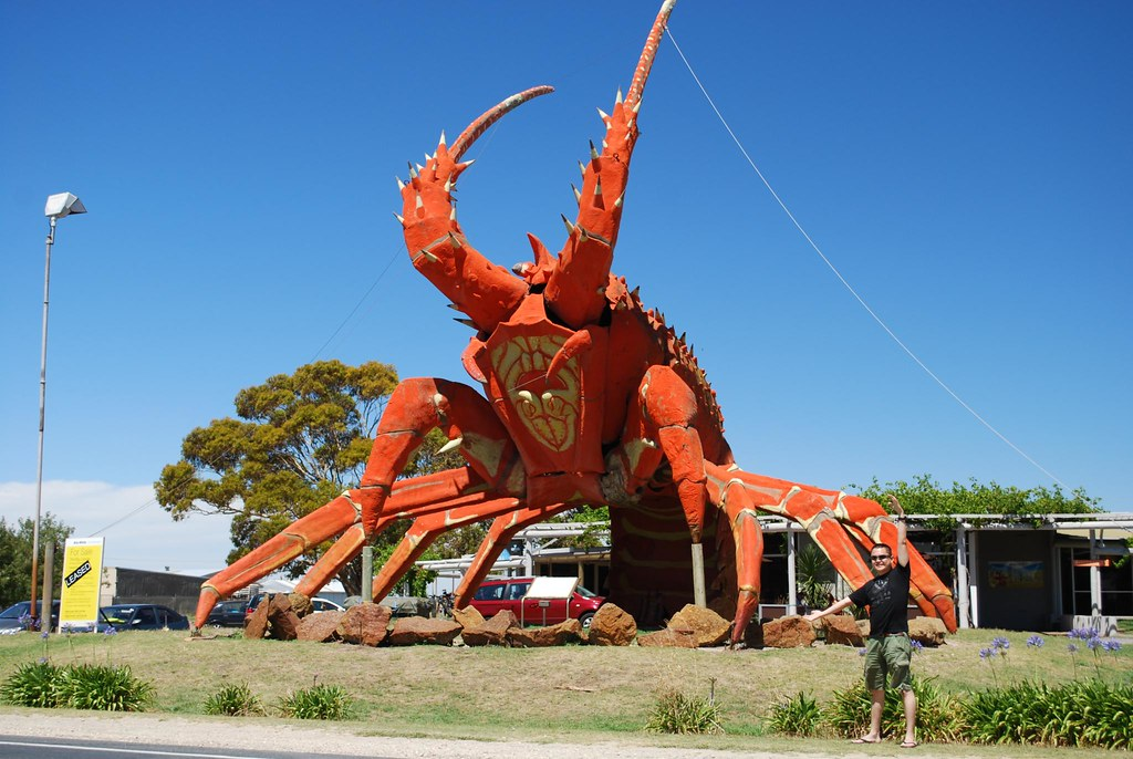 80a6198359 ... Alpha and Big Lobster, Kingston SE - photo by Julia | by avlxyz