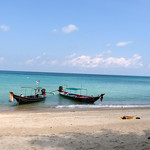 Koh Phangan Bottle Beach- Holiday  3rd day コパンガン ボトルビーチ1