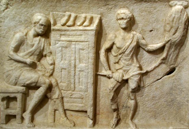 Sabater i filador, Museo Nazionale Romano nelle Terme di Diocleziano, Roma