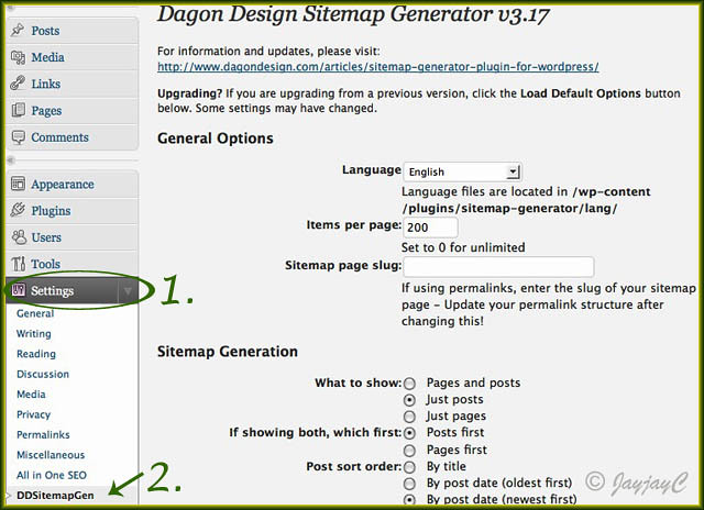 Dagon Design Sitemap Generator plugin #4 | Just a screen sho… | Flickr