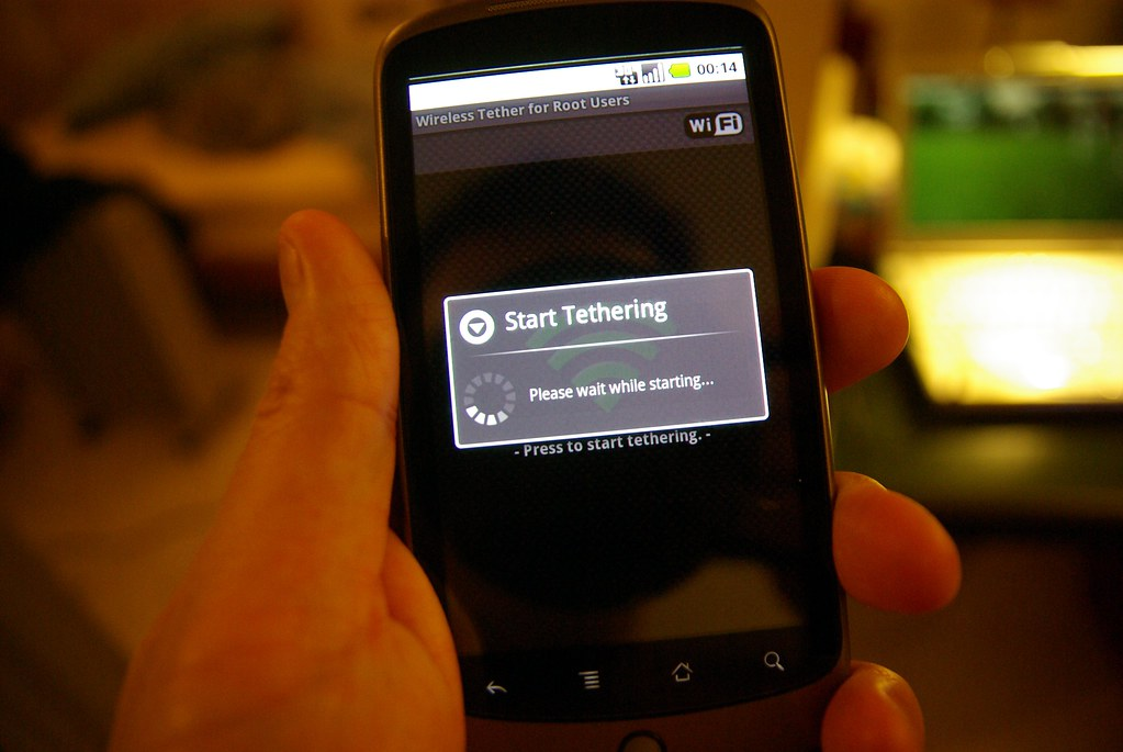 Android wifi tether for root users