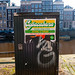 misformed/mollested posters in Amsterdam