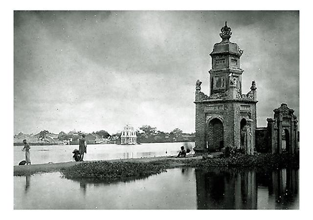 tháp Hòa Phong của chùa Báo Ân xưa