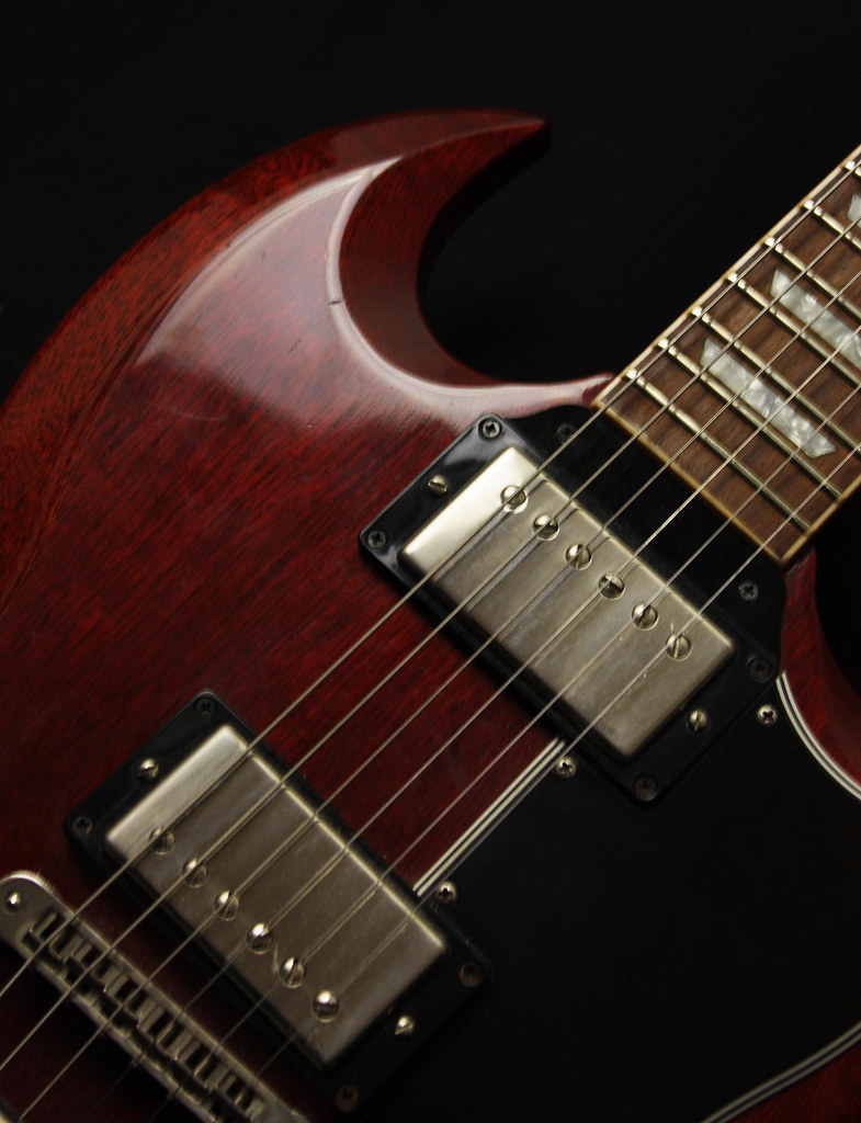 Gibson SG | The guitar I play slide on in open e tuning  Wat… | Flickr