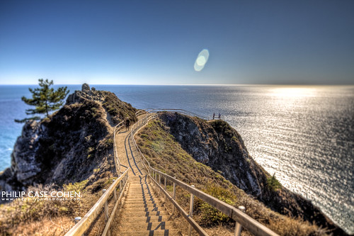 Muir Beach Overlook by Philip Case Cohen