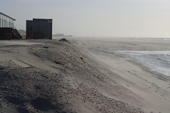 sand dunes on Kijkduin beach