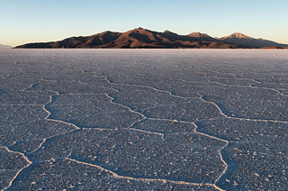 Salar de Uyuni: shortly after sunrise | by Mike.D.Green