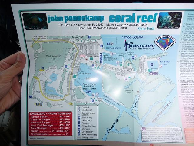 map of john pennekamp  | airstream road trip 2010 (florida k… | Flickr