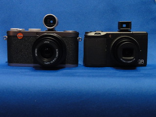 LEICA X1 vs RICOH GR Digital III | LEICA X1 with Canon's ret… | Flickr