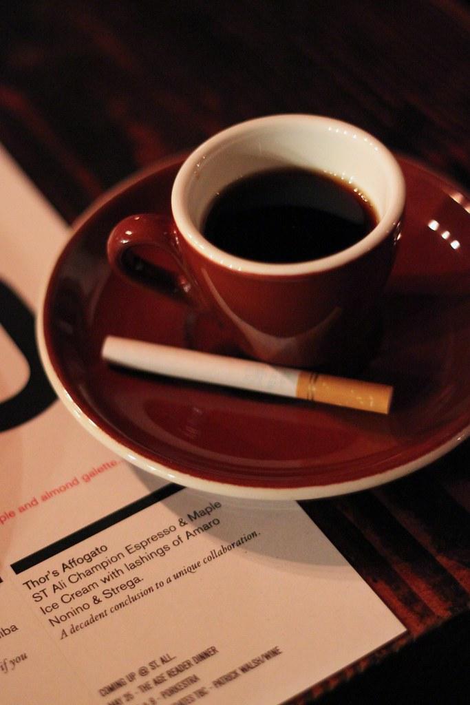 coffee & cigarettes | el senorio reposado, columbian tama mo… | Flickr
