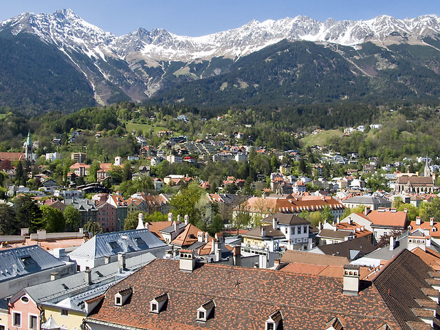 capital city of tyrol