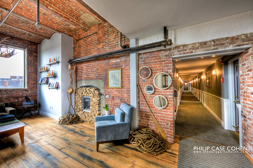 Ale House Inn (Lobby   Hallway) by Philip Case Cohen