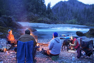 Camping at Klondike | by Northwest Rafting Company