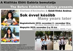 2010. október 11. 10:20 - Clarisse d'Arcimoles & Gáldi-Vinkó Andrea: Sok évvel később