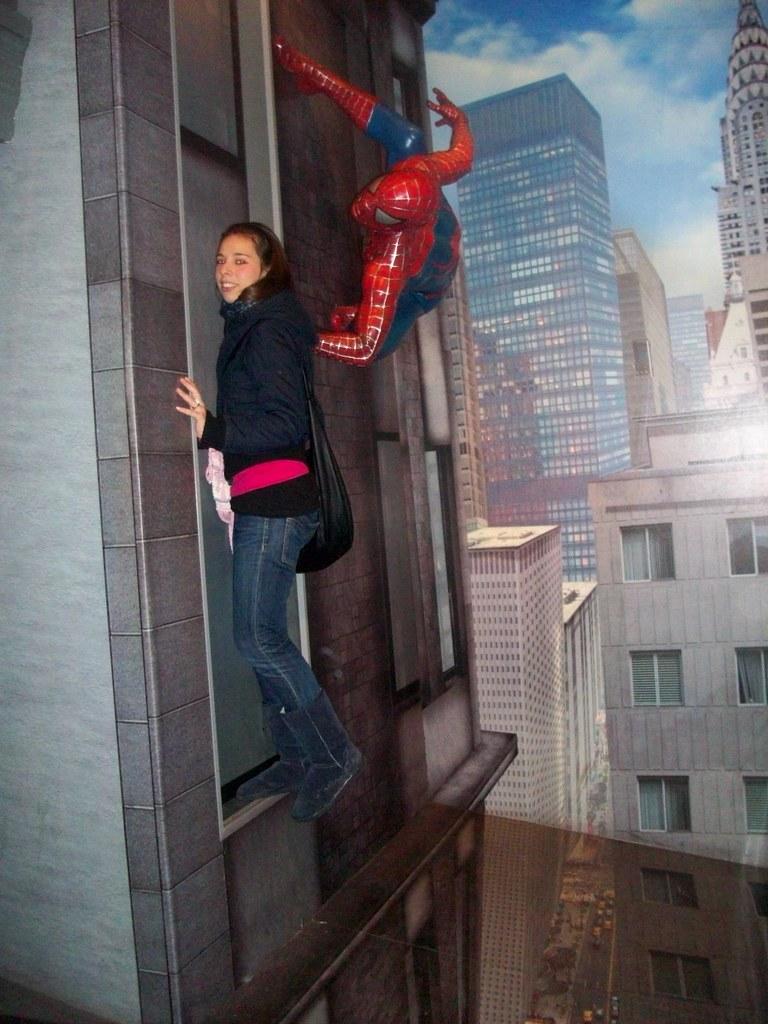 Museo Delle Cere Amsterdam.Madame Tussaud S Museo Delle Cere Spiderman Amsterdam 2