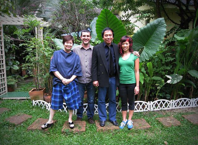 Paad, Steve, Kitti (Khun Poh) & Anchalee