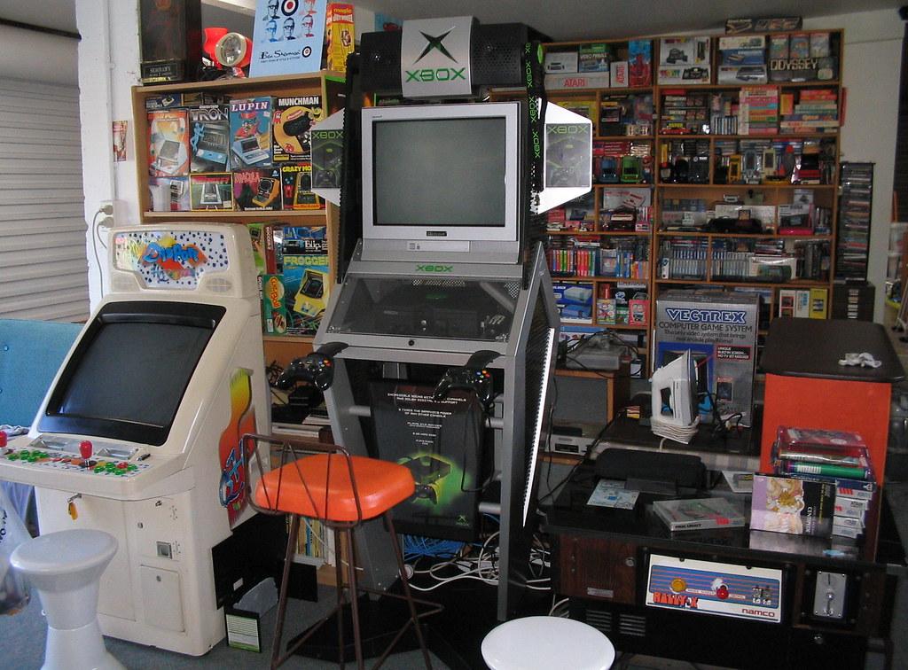 More Games Xbox Kiosk Namco Rally X Tabletop Game Room Kiwigame Flickr