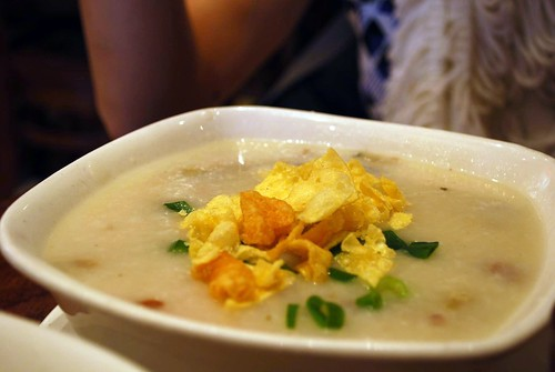 Pork and Preserved Egg Congee - China Bar AUD8.50 | by avlxyz