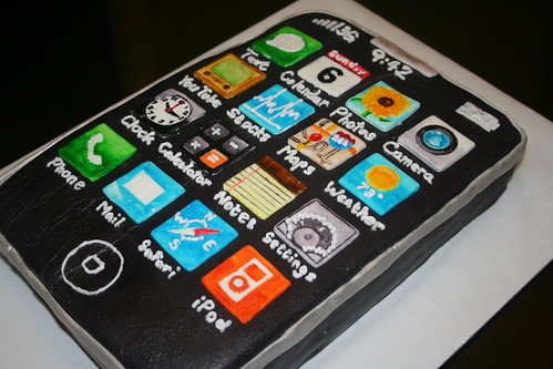 iPhone Cake | by sweetfacecakes