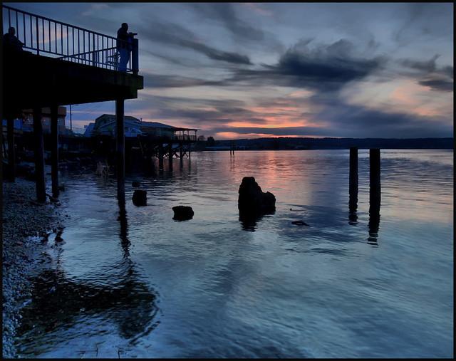 Titlow Beach Twilight, Tacoma, Washington