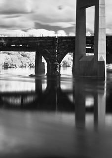 bridge on lucid water | by briphi