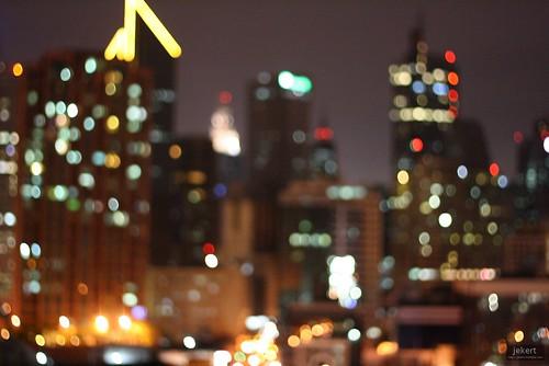 Makati Skyline - Bokeh | by jekert gwapo